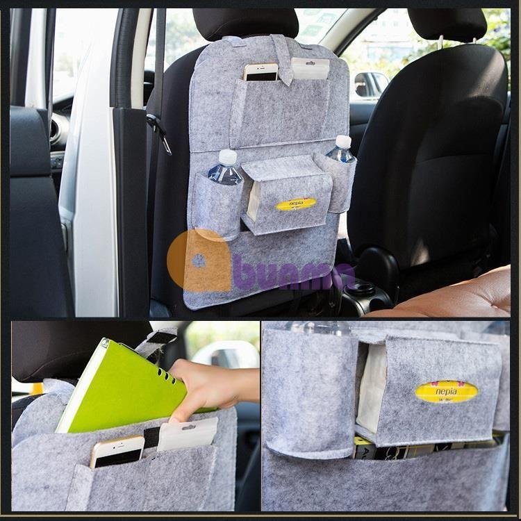 Túi đựng đồ treo lưng ghế ô tô (Cơ bản)