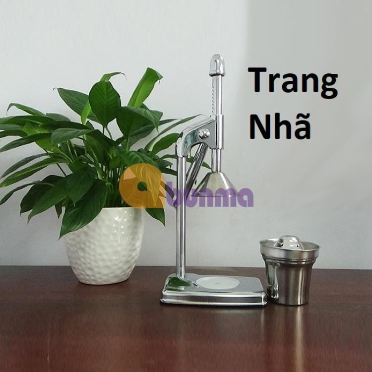 Máy ép trái cây, ép cam bằng tay (Inox)