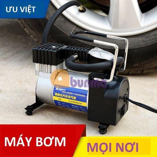 Picture of Máy bơm lốp xe hơi, ô tô mini 12V (Air Compressor)
