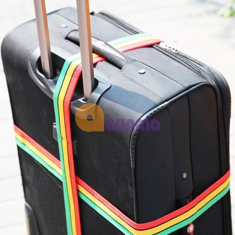 Dây đai khóa Vali, khóa hành lý chống trộm 3 số (2m)