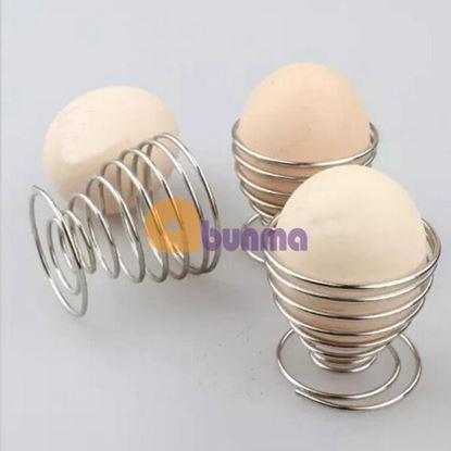 Picture of Giá đựng trứng gà, vịt. Khay cốc đựng trứng gà, vịt (inox)