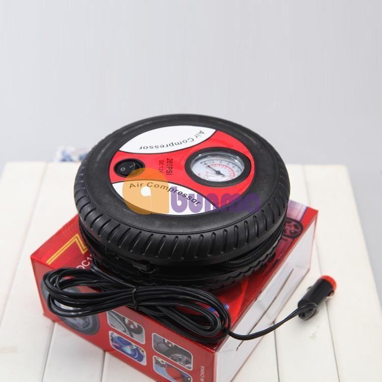 Máy bơm lốp xe hơi, ô tô mini 12V (Air Compressor) 260PSI
