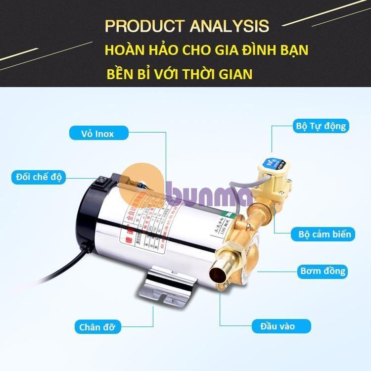 Máy bơm tăng áp tự động (100W, 150W)