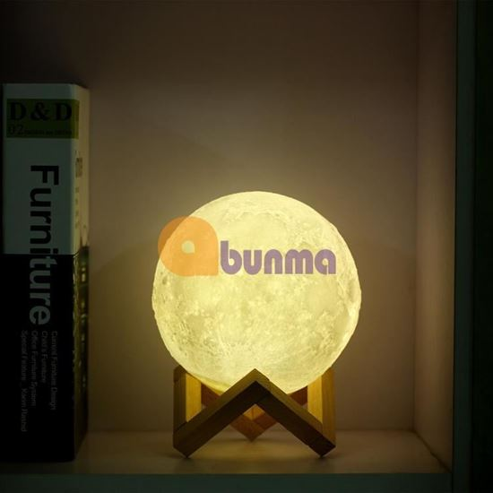 Picture of Đèn ngủ mặt trăng Moon Light 3D