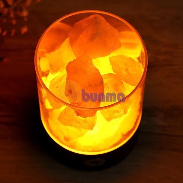 Đèn ngủ đá muối Himalaya tinh thể