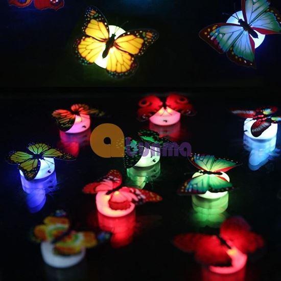 Picture of Đèn led bươm bướm dán tường, đèn phát sáng trang trí trẻ em