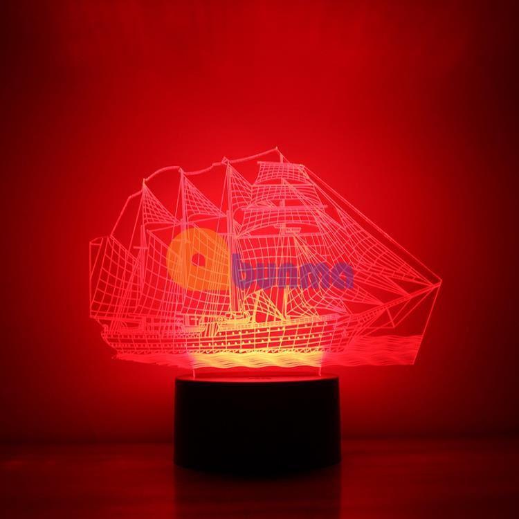 Đèn ngủ tàu biển 7 màu (Cướp biển vùng Caribbe)