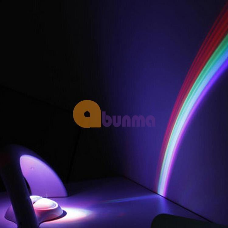 Đèn ngủ cầu vồng 3D