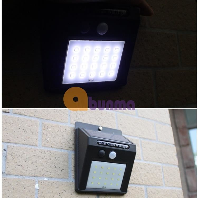 Đèn led năng lượng mặt, Pin li-ion, tích hợp cảm biến bật tắt