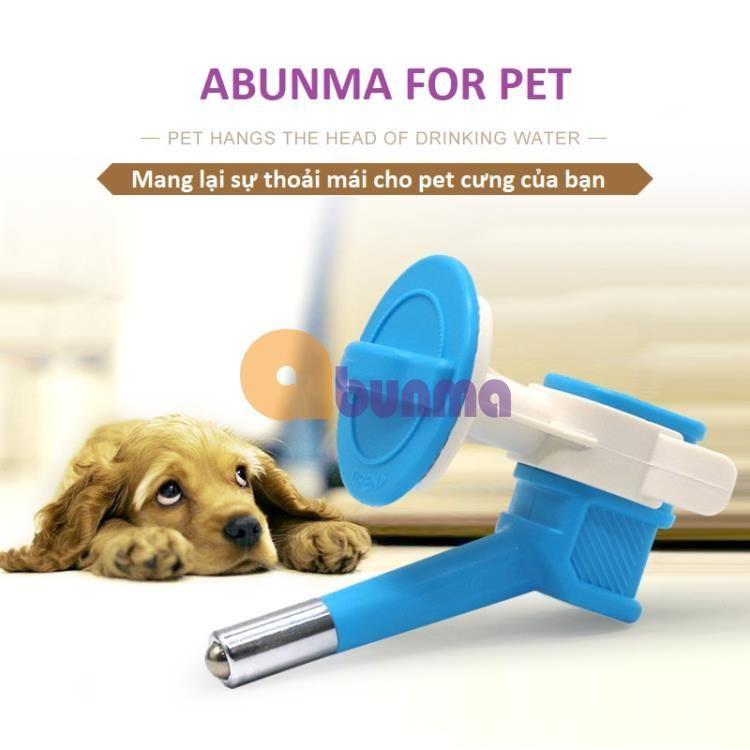 Vòi uống nước tự động cho Pet (Chó, mèo, gà) lắp chai nhựa