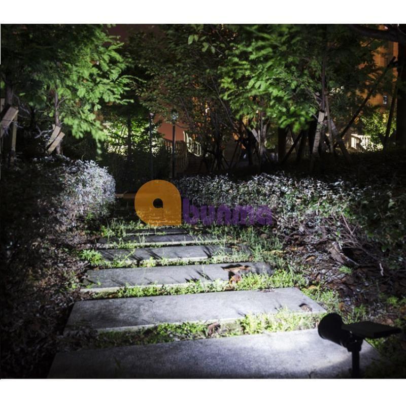 Đèn chiếu tiểu cảnh năng lượng mặt trời, đèn trang trí sân vườn