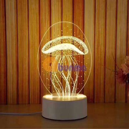 Picture of Đèn ngủ, đèn trang trí, Led 3D
