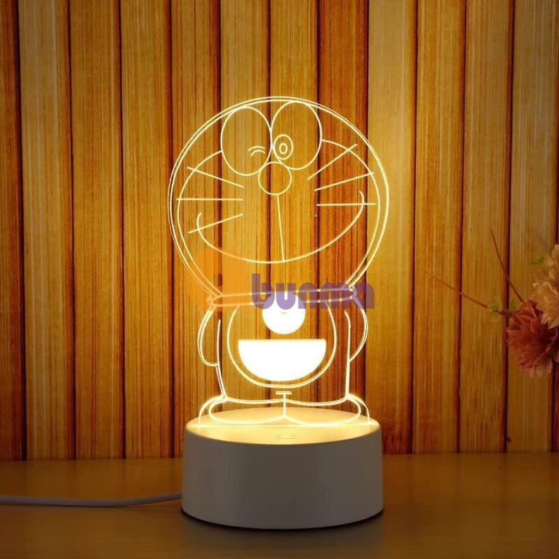 Đèn ngủ, đèn trang trí, Led 3D