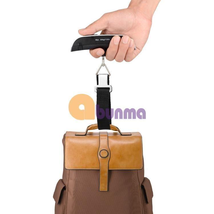Cân điện tử sách tay, cân hành lý sân bay, cân du lịch K-8
