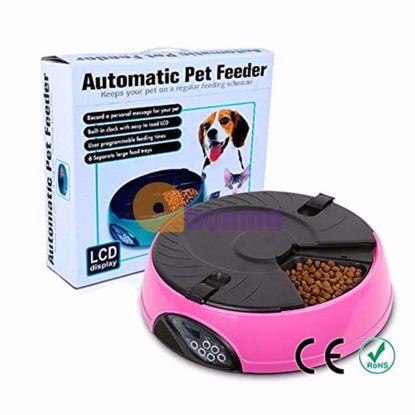 Picture of Máy tự động hẹn giờ cho Pet ăn (Chó, mèo), Khay hẹn giờ 6 ngăn PF-18